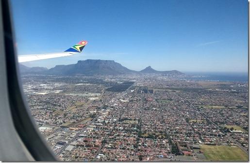 Cape Town arrival (Medium)
